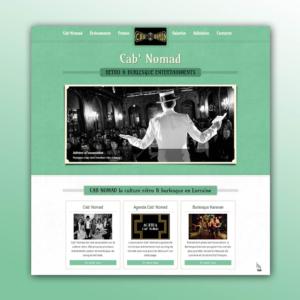 Site web Cab Nomad