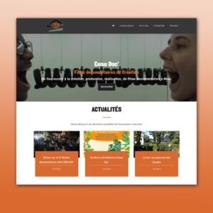 Site web Casa Doc