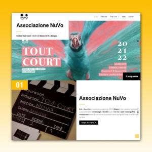 Site web associazione NuVo
