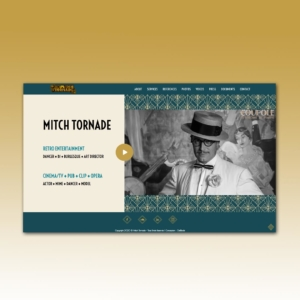 Site web Mitch Tornade